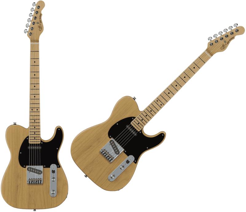 Guitare G&L ASAT Classic FD-ASTCL-BTR-M. - Voir en grand