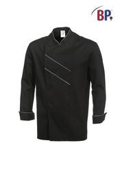 Veste de cuisine Grand Chef Noir/gris clair BP vêtement professionnel - Voir en grand