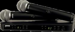 SYSTEME HF Shure BLX288E-SM58-M17 - Voir en grand