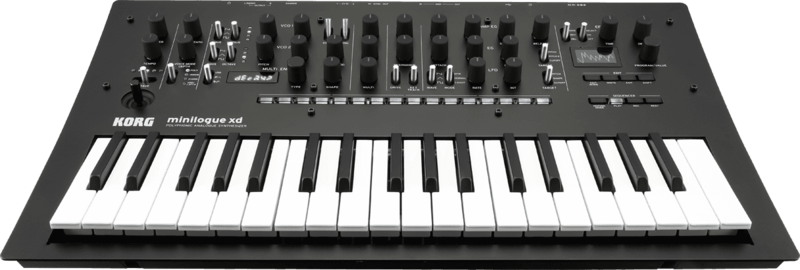 Synthétiseur Korg MINILOGUE-XD-3 - Voir en grand