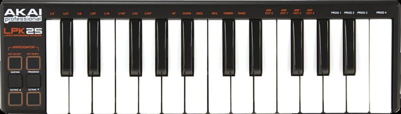 Clavier maître Akaï LPK25 - Voir en grand