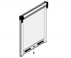 Moustiquaire enroulable verticale - Pose tableau.JPG