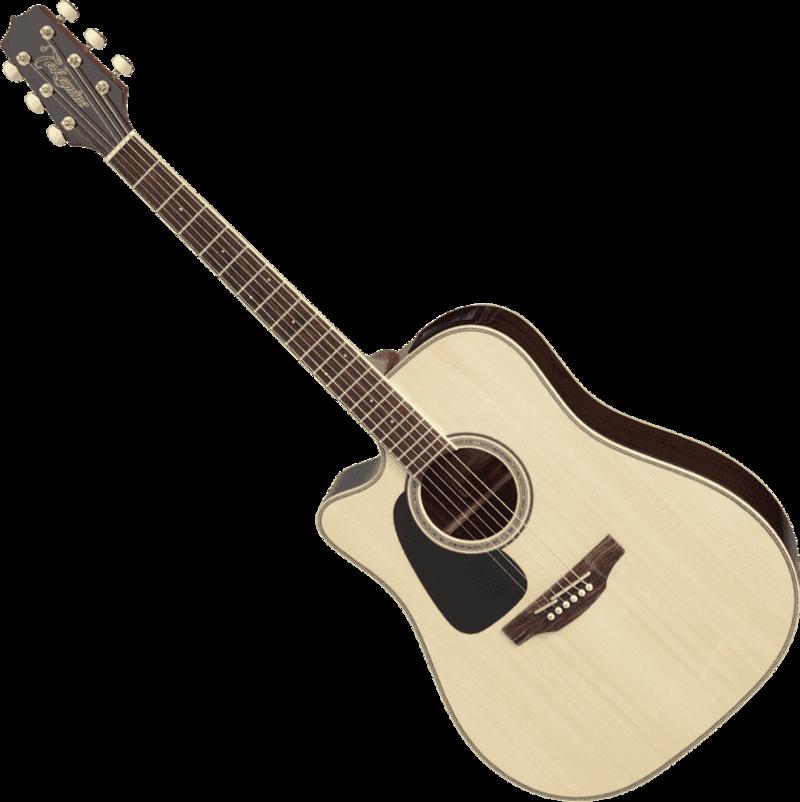 Guitare folk Takamine GD51CELH-NAT - Voir en grand