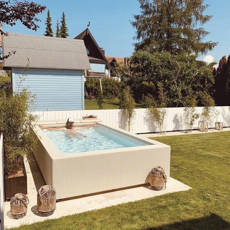 petite piscine pour terrasse