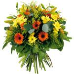 Bouquet rond - Bouquets ronds - DENI'S FLEURS - Voir en grand