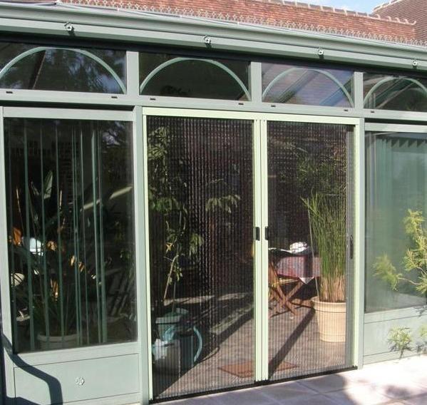 Moustiquaire plissée pour portes & baies - Moustiquaires - b1ChezSoi - Voir en grand