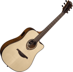 Guitare folk Lâg T318DCE - Voir en grand