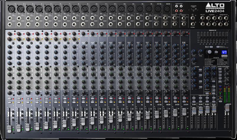 Table de mixage Alto LIVE2404 - Voir en grand