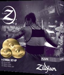 Pack Cymbales Planet Z PLZ4PK - Voir en grand