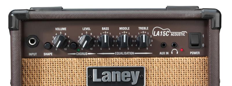 Ampli acoustique Laney LA15C-3 - Voir en grand