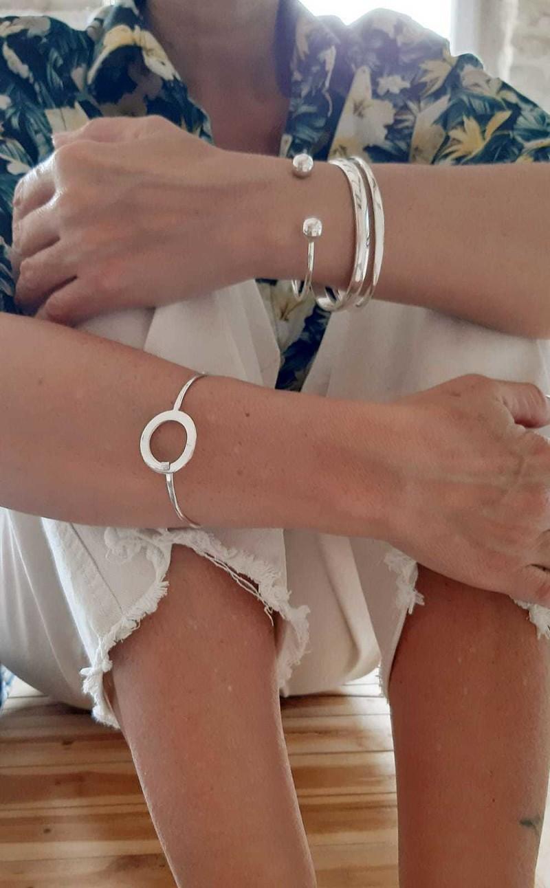 bracelets joncs - bracelets - EL SOL - Voir en grand