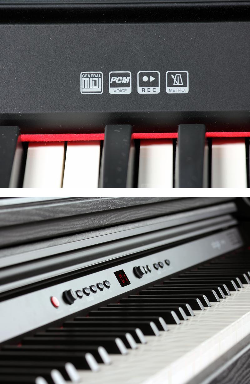 Piano numérique Adagio DP150BK-5. - Voir en grand