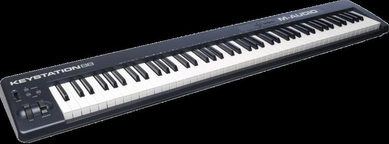 Clavier maître M-AUDIO KEYSTATION88II - Voir en grand