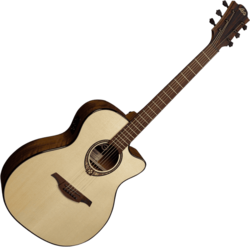Guitare folk Lâg T318ACE - Voir en grand