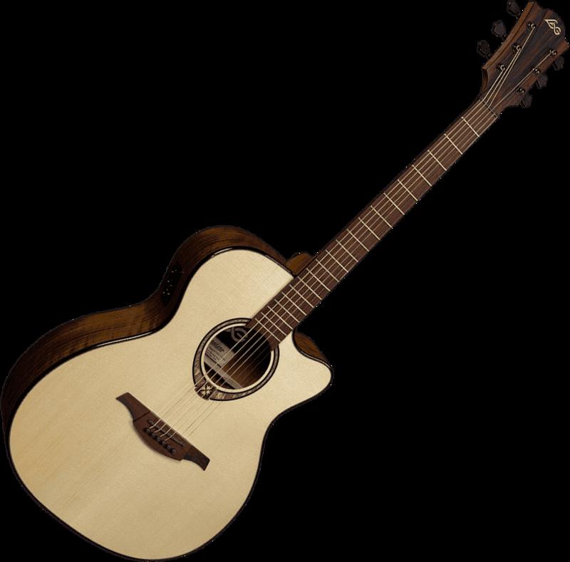 Guitare folk Lâg T318ACE - Voir en grand