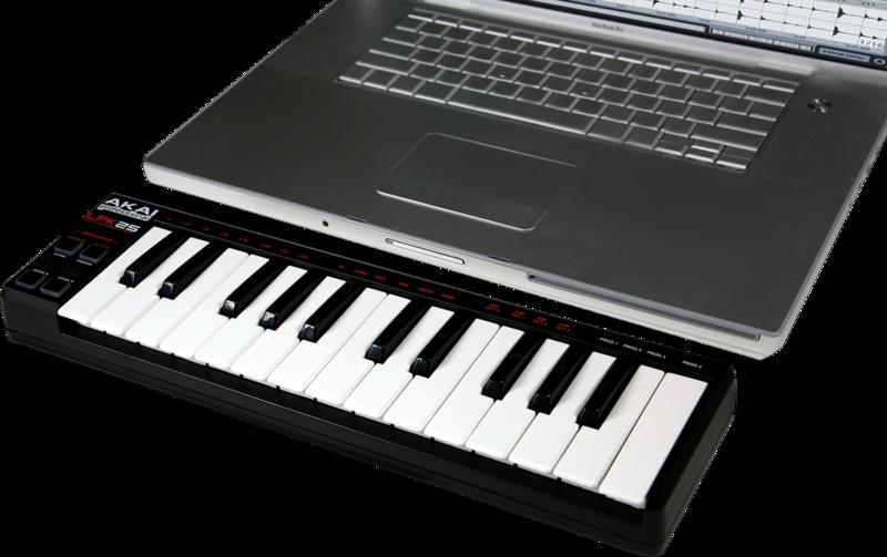 Clavier maître Akaï LPK25-2 - Voir en grand