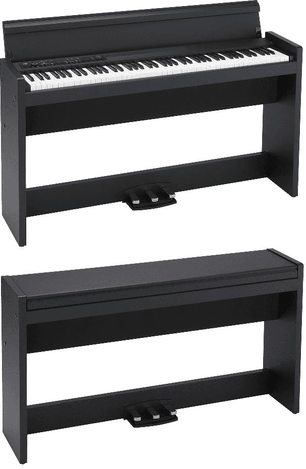 Piano numérique Korg LP380U-BK noir. - Voir en grand