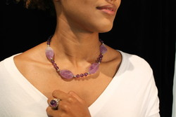 COLLIER AMETHYSTE 148 ¤ - Voir en grand