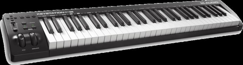 Clavier maître M-AUDIO KEYSTATION61MK3-2 - Voir en grand