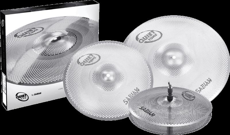 Pack Cymbales Quiet Tone QTPC502-2 - Voir en grand