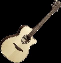 Guitare folk Lâg T270ASCE - Voir en grand
