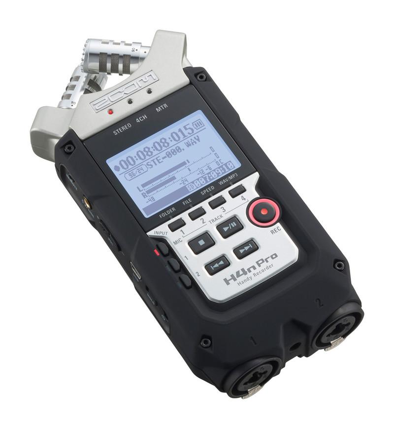 Enregistreur numérique ZOOM H4n Pro-3 - Voir en grand