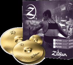 Pack Cymbales Planet Z PLZ1418 - Voir en grand
