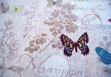 Tissu en lin, fabrication française STOF, vendu au mètre - Les fées ...