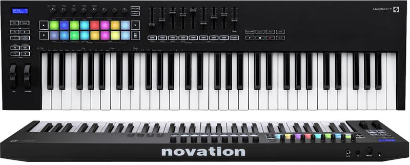 Clavier maître Novation LAUNCHKEY-61-MK3. - Voir en grand