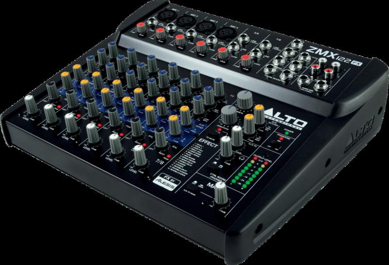 Table de mixage Alto ZMX122FX - Voir en grand
