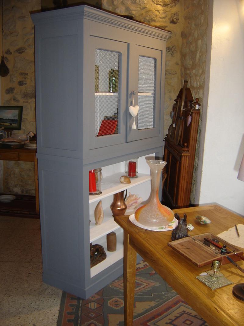 meuble deux corps vendu l atelier du rat d 39 acier. Black Bedroom Furniture Sets. Home Design Ideas