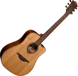 Guitare folk Lâg T170DCE - Voir en grand