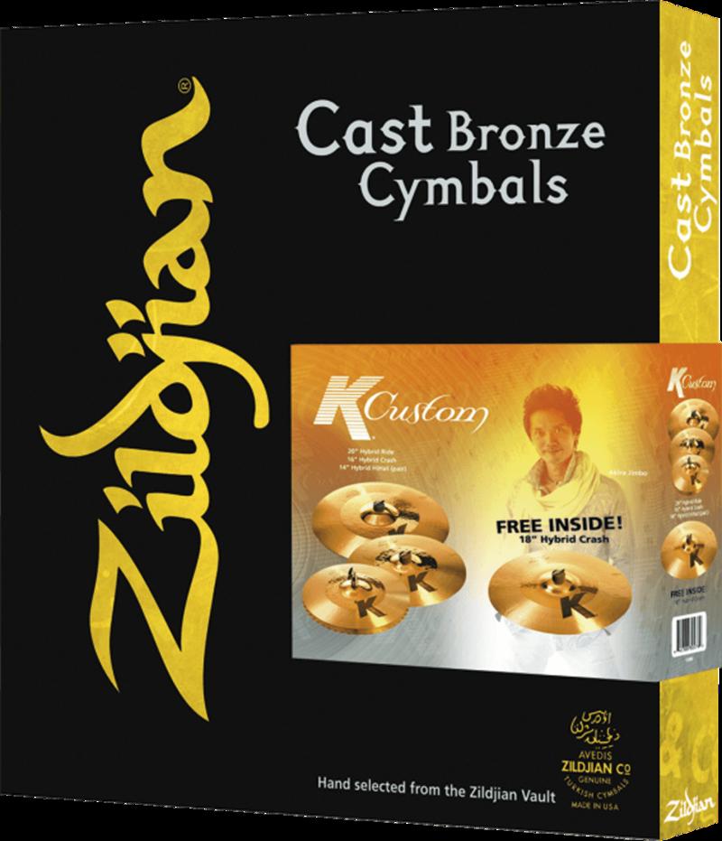 Pack Cymbales K Custom K1250-I7 - Voir en grand