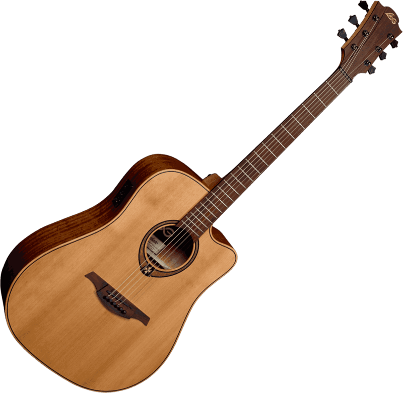 Guitare folk Lâg T170DCE - Voir en grand