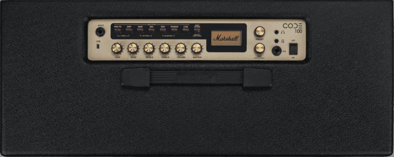 Ampli Marshall CODE100-4 - Voir en grand