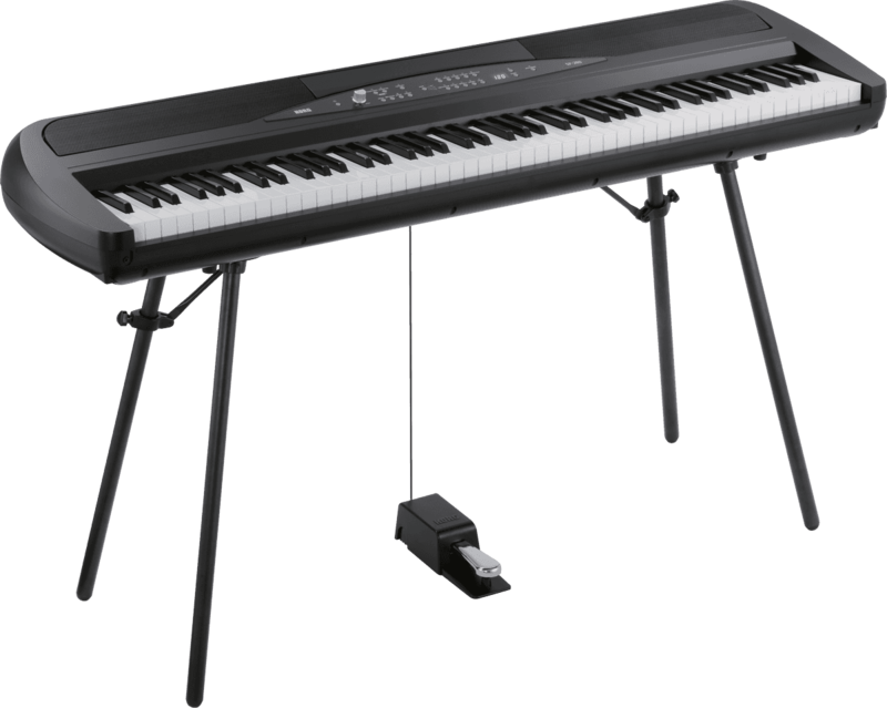 Piano numérique Korg SP280-BK-4 - Voir en grand