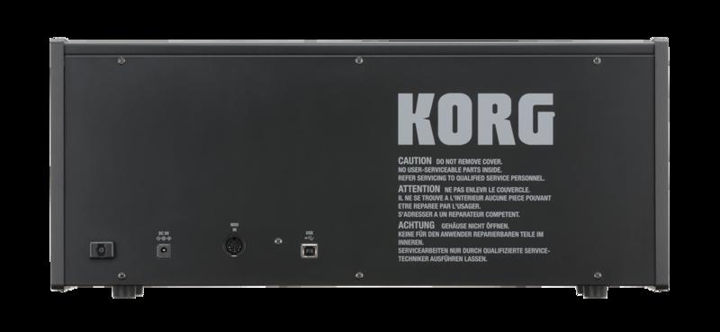 Synthétiseur Korg MS20-MINI-3 - Voir en grand