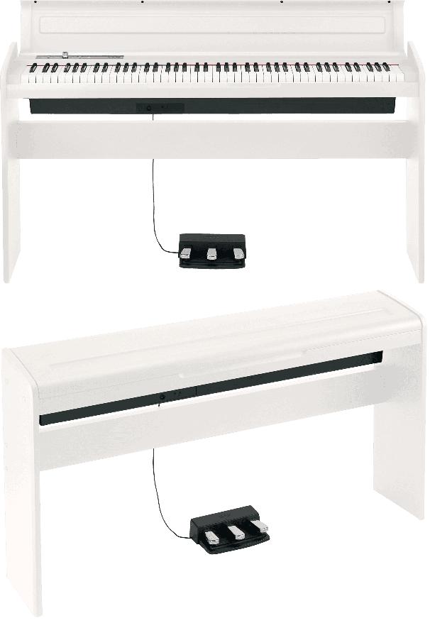 Piano numérique Korg LP180-WH blanc - Voir en grand
