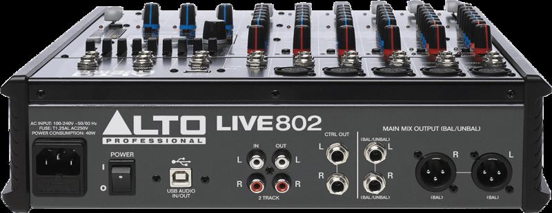 Table de mixage Alto LIVE802-3 - Voir en grand