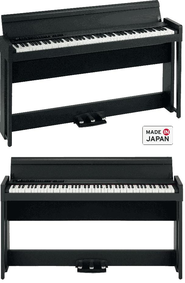 Piano Numérique Korg C1-Air-BK. - Voir en grand