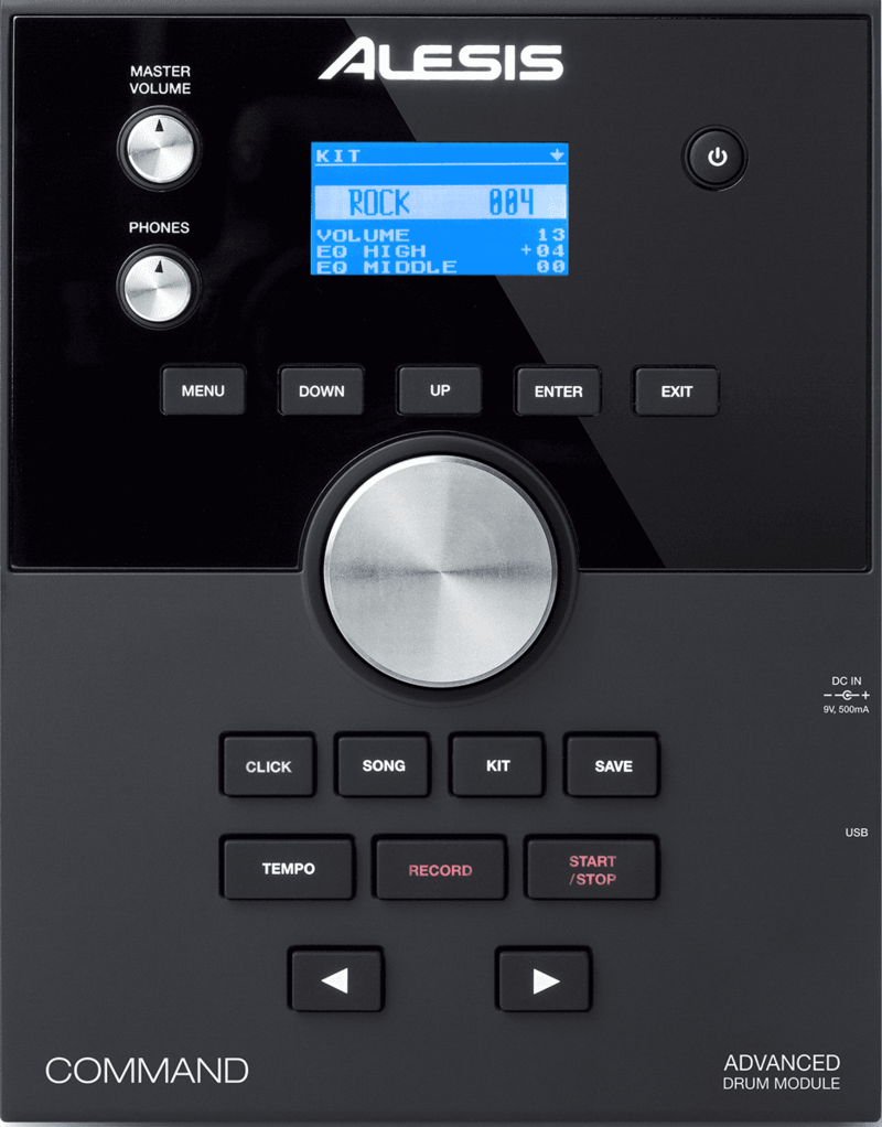 Alesis BATTERIE ELECTRONIQUE COMMANDMESHKIT-2 - Voir en grand