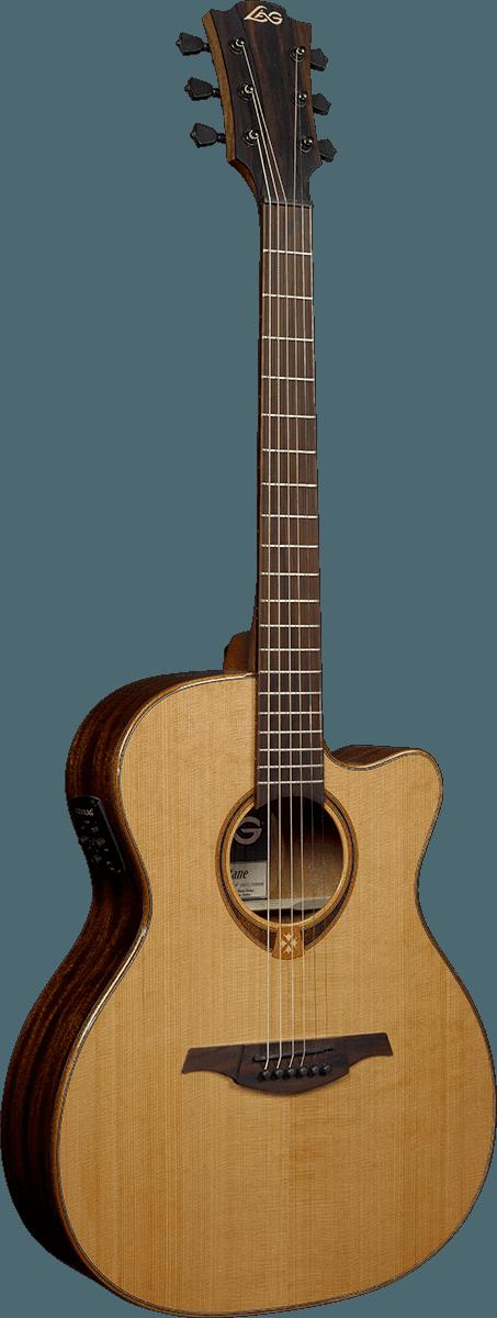 Guitare folk Lâg T118ASCE - Voir en grand