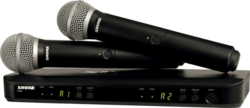 SYSTEME HF Shure BLX288E-PG58-M17 - Voir en grand