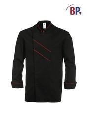 Veste Grand Chef BP Noir/rouge - Benoit Abbaye Alès - Voir en grand