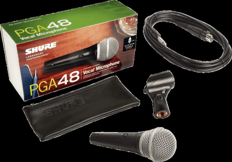 Micro Shure filaire PGA48-QTR - Voir en grand