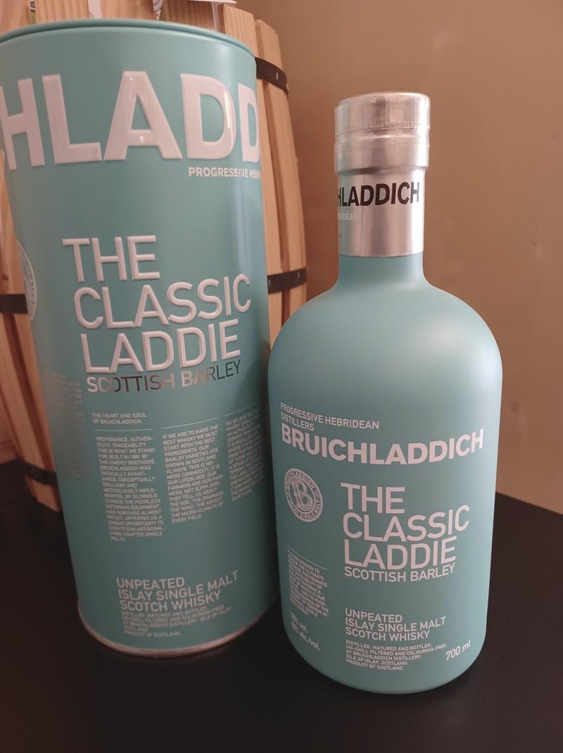 the classic laddie (whisky single malt)  - whisky - LA CAVE DE LA SOMMELIERE - Voir en grand