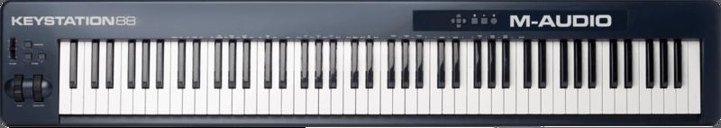 Clavier maître M-AUDIO KEYSTATION88II-2 - Voir en grand
