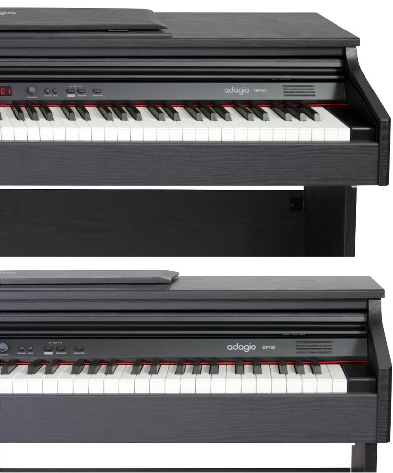 Piano numérique Adagio DP150BK-3. - Voir en grand