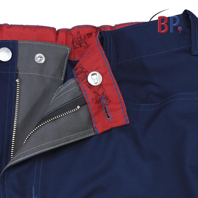Pantalon de travail BP avec taille élastique au dos - Voir en grand