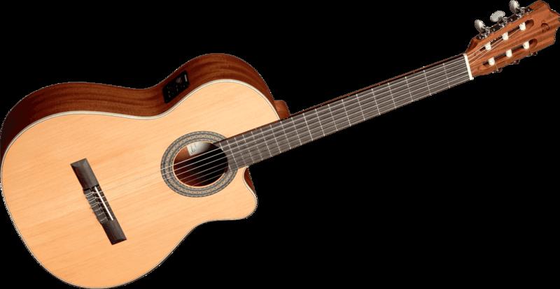 Guitare Cuenca  5CTW - Voir en grand